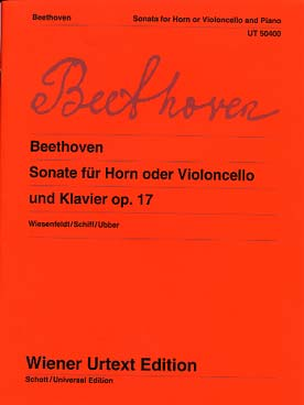 Illustration beethoven sonate op. 17 en fa maj