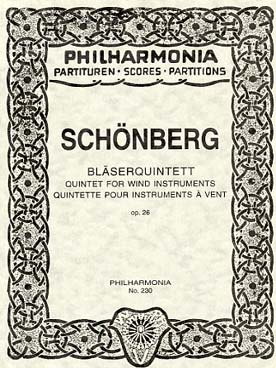 Illustration schoenberg quintette op. 26