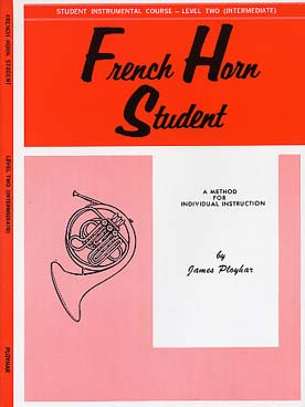 Illustration french horn student vol. 2