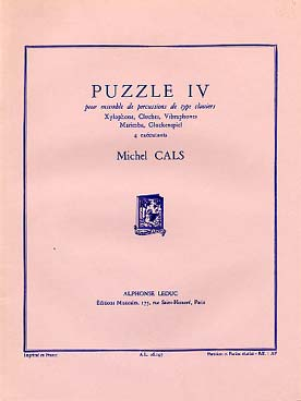 Illustration cals puzzle iv