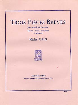 Illustration cals trois pieces breves (conducteur)