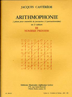 Illustration casterede arithmophonie cahier 3