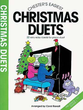 Illustration barratt chester's easiest christmas duet