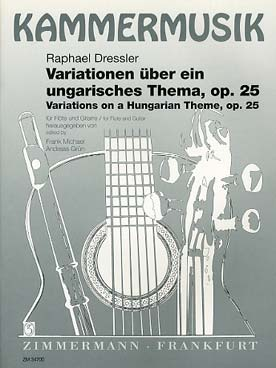 Illustration dressler variations op. 25