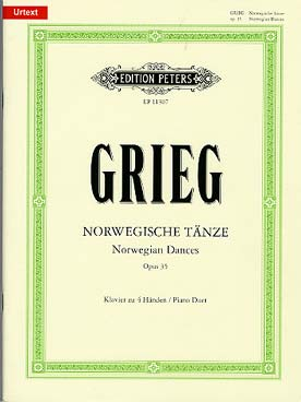 Illustration grieg danses norvegiennes op. 35