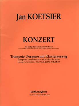 Illustration koetsier konzert