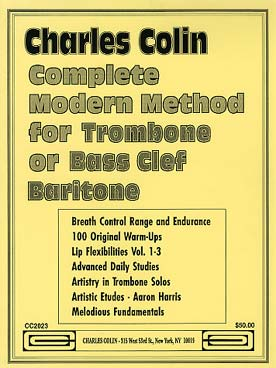 Illustration colin methode complete trombone