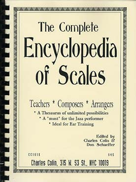 Illustration complete encyclopedia of scales (the)