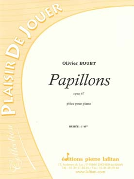 Illustration bouet papillons op. 67
