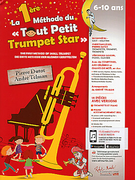 Illustration 1re methode du tout petit trumpet star