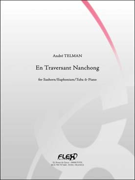 Illustration telman en traversant nanchong