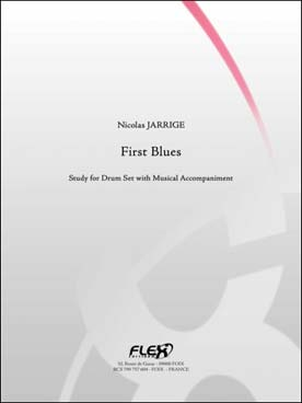 Illustration jarrige first blues avec play-along mp3