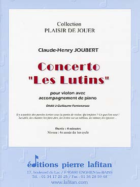 Illustration joubert concerto les lutins