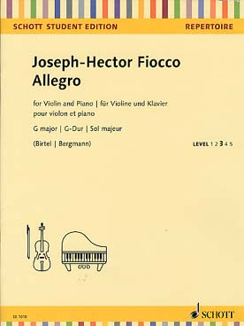 Illustration fiocco allegro