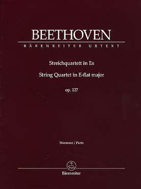 Illustration beethoven quatuor op. 127 en mi b maj