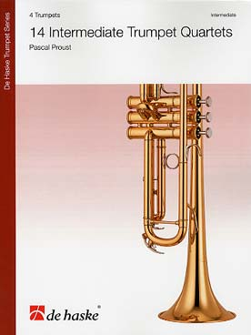 Illustration proust intermediate trumpet quartets (14