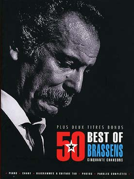 Illustration brassens 50 best of (p/v/g)