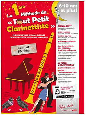 Illustration 1re methode du tout petit clarinettiste