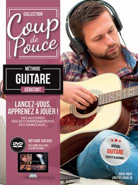 Guitare classique, blues <br> country avec CD