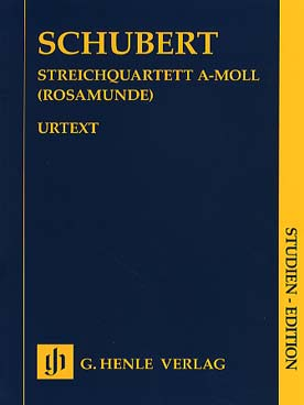 Illustration schubert quatuor op. 29 (rosamunde)