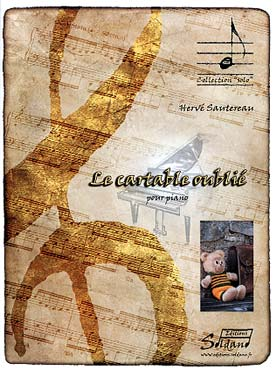 Illustration sautereau cartable oublie (le)