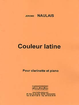 Illustration naulais couleur latine