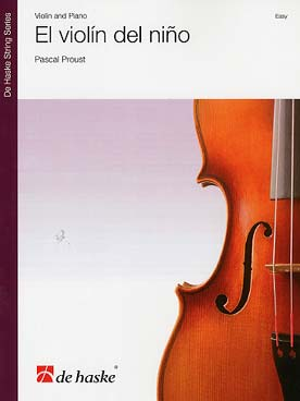 Illustration proust el violin del nino