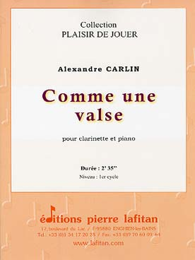 Illustration carlin comme une valse