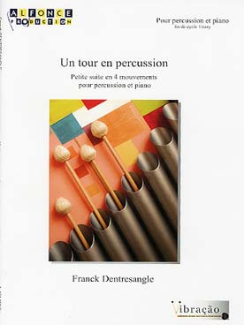 Illustration dentresangle tour en percussion (un)