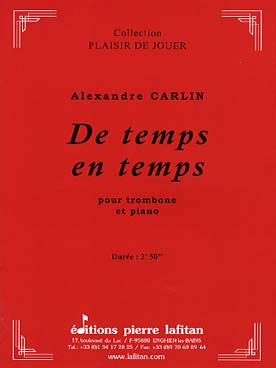 Illustration carlin de temps en temps