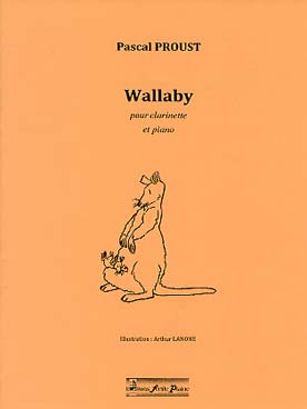 Illustration proust wallaby