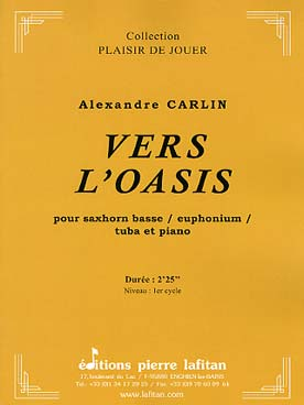 Illustration carlin vers l'oasis