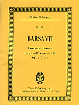 Illustration barsanti concerto grosso op. 3/10 re maj