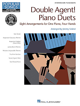 Illustration double agent ! piano duets