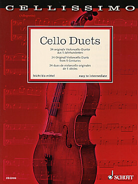 Illustration cello duets : 34 duos