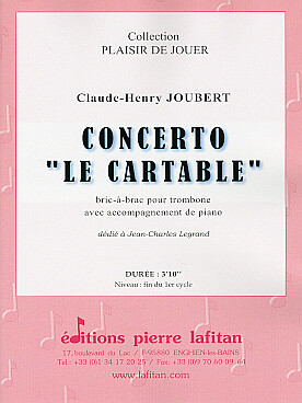 "Illustration joubert concerto ""le cartable"""