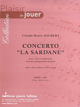 "Illustration joubert concerto ""la sardane"""