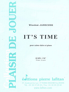 Illustration janeczek it's time