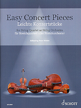 Illustration easy concert pieces