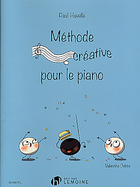 Illustration huvelle methode creative pour le piano