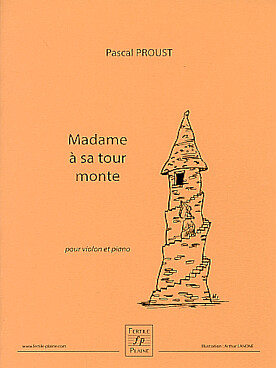 Illustration proust madame a sa tour monte