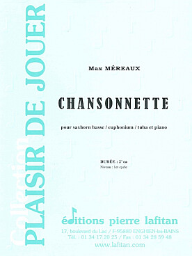 Illustration mereaux chansonnette