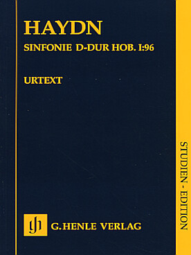 Illustration haydn symphonie n° 96 en re maj