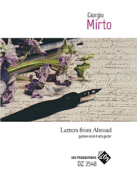 Illustration mirto letters from abroad