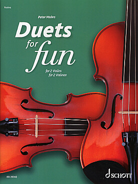 Illustration duets for fun violons