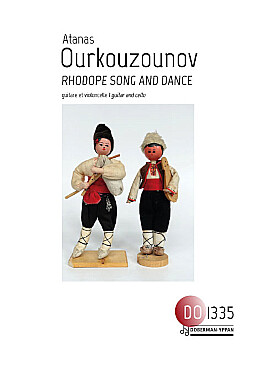 Illustration ourkouzounov rhodope song and dance