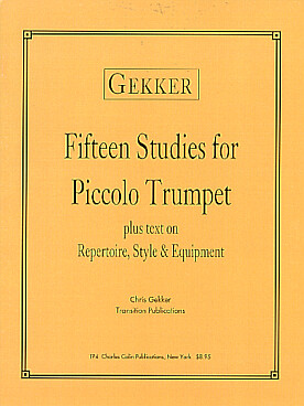 Illustration de 15 Studies for piccolo trumpet
