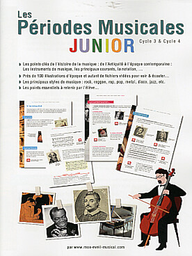 Illustration periodes musicales junior cycle 3/4
