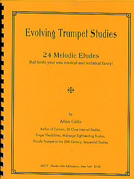 Illustration de 24 Melodic etudes that invite your own musical and technical fancy !