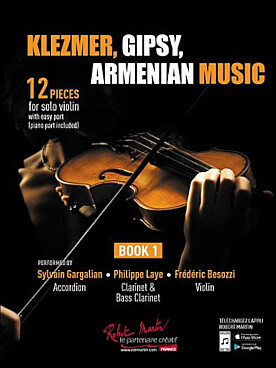 Illustration klezmer, gipsy, armenian music vol. 1